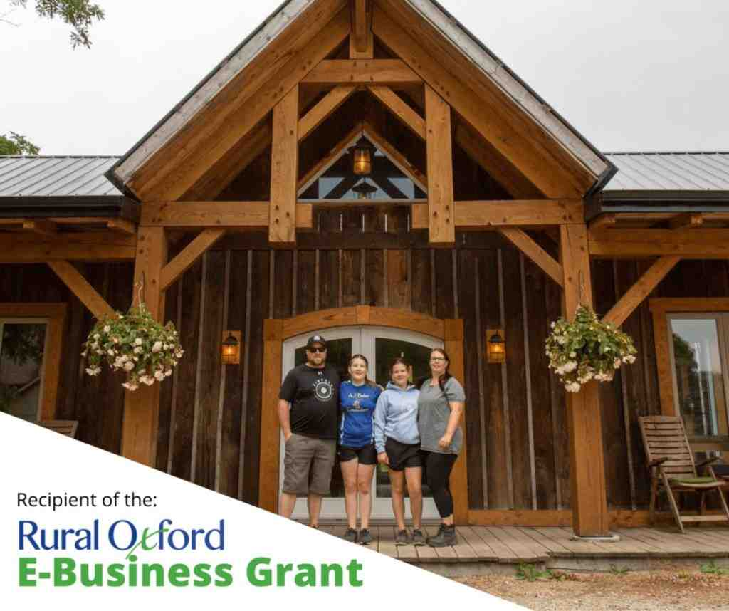 Rural Oxford E-Business Grant Recipient Series: Kintore Custom Hardwoods